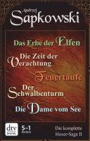 Das Erbe der Elfen   Die Zeit der Verachtung   Feuertaufe   Der Schwalbenturm   Die Dame vom See