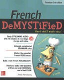 French Demystified  Premium 3rd Edition