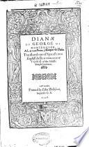Diana of George of Montemayor