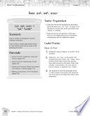 Content-Area Vocabulary Science--Base sed-, sid-, sess-