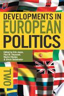 Developments in European Politics 2