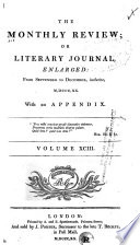 The Monthly Review, Or, Literary Journal : ...