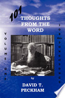 101 Thoughts from the Word With The Declaration It Is Written The