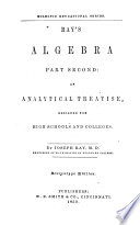Ray s Algebra