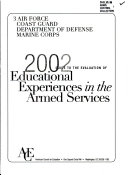Guide to the evaluation of educational experiences in the armed services