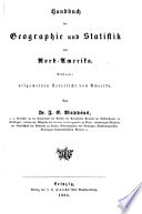 Handbuch der Geographie und Statistik für die gebildeten Stände begründet durch C.G.D. Stein und Ferd. Hörschelmann