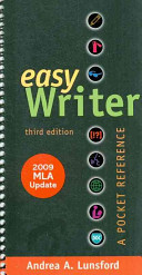 Easy Writer  MLA Quick Reference Card  APA Quick Reference Card  The St  Martin s Pocket Guide to Research and Documentation