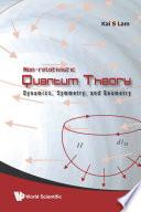 Non Relativistic Quantum Theory book