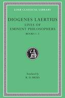 Lives of eminent philosophers  1