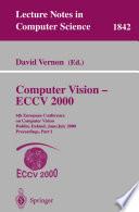 Computer Vision   ECCV 2000