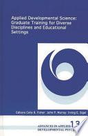 Applied Developmental Science