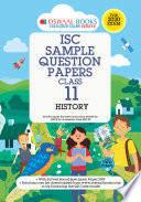 Oswaal Isc Sample Question Paper Class 11 History For 2020 Exam