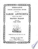 Dissertazioni storiche apologetiche critiche delle sarde antichit