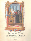 Musical Text as Ritual Object