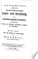 Allgemeines ökonomisch-chemisch-technologisches Haus- und Kunstbuch