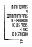 Comercio de maufacturas y semimanufacturas