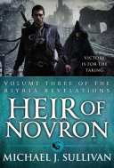 Heir Of Novron : nationalists with a bloody celebration. on the...