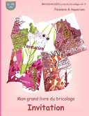 Brockhausen Livre Du Bricolage Vol  5   Mon Grand Livre Du Bricolage   Invitation
