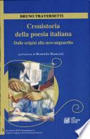 CRONISTORIA DELLA POESIA ITALIANA   Dalle origini alla neovanguardia