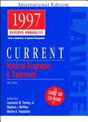 Current Medical Diagnosis   Treatment  1997