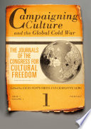 Campaigning Culture and the Global Cold War