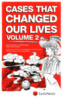 Cases That Changed Our Lives Volume 2 Presents A Brand