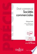 Droit commercial  Soci  t  s commerciales    dition 2016