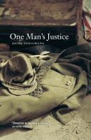 . One Man