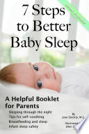 7 Steps to Better Baby Sleep  A Helpful Booklet for Parents