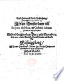 West-Indianisk Reese-Beskriffning, från åhr 1639 till 1645, ifrån Amsterdam till St. Jouis de Mina ... In pa wårt Swånska Språåk fo̊rwånd och tryckt ... aff ... J. Kankel