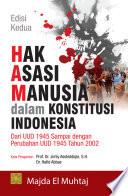 Hak Asasi Manusia dalam Konstitusi Indonesia