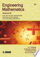 Engineering Mathematics Volume III  Linear Algebra and Vector Calculus   For 1st Year  2nd Semester of JNTU  Kakinada