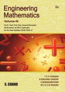 Engineering Mathematics Volume III (Linear Algebra and Vector Calculus) (For 1st Year, 2nd Semester of JNTU, Kakinada)