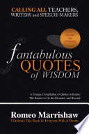 Fantabulous Quotes of Wisdom