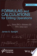 Formulas And Calculations For Drilling Operations