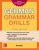 German Grammar Drills Third Edition