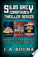 Silas Grey Religious Conspiracy Archaeological Thriller Collection Full Price Holy Shroud An Ancient Threat