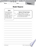 Freckle Juice Reader Response Writing Prompts