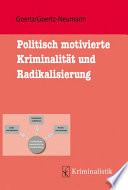 Goertz/Goertz-Neumann, Politisch motivierte Kriminalität