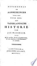 Vaderlandsche historie