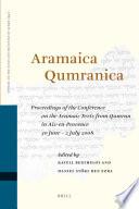 Aramaica Qumranica