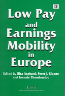Low Pay And Earnings Mobility In Europe book
