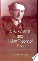 I A  Richards and Indian Theory of Rasa