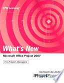 What s New Microsoft Office Project 2007