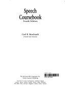 Speech Coursebook