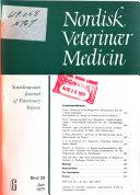 Nordisk veterinaer medicin