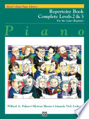Alfred s Basic Piano Course  Repertoire Book Complete 2   3