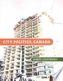 City Politics  Canada