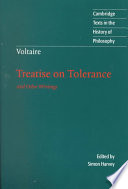Voltaire: Treatise on Tolerance