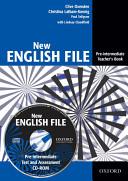NEW ENGLISH FILE PRE INTERMEDIATE TEACHER S BOOK  CD1